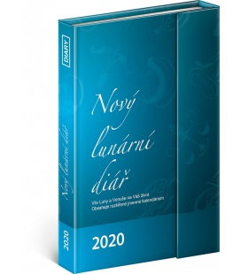 Magnetic weekly diary New lunar diary 2020