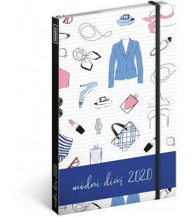 Weekly diary A5 Fashion diary 2020