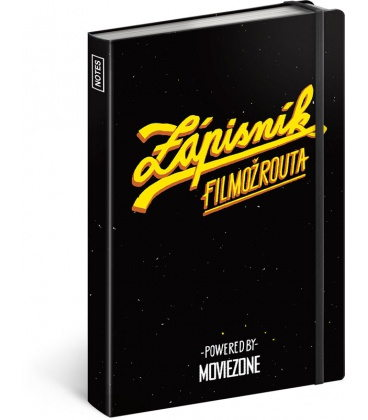 Notebook A5 A Movie Lover's Journal 2020