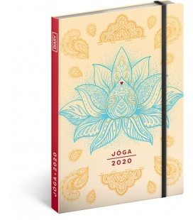 Weekly diary A5 Yoga 2020