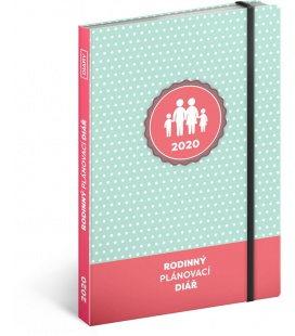 Weekly diary A5 Family diary 2020