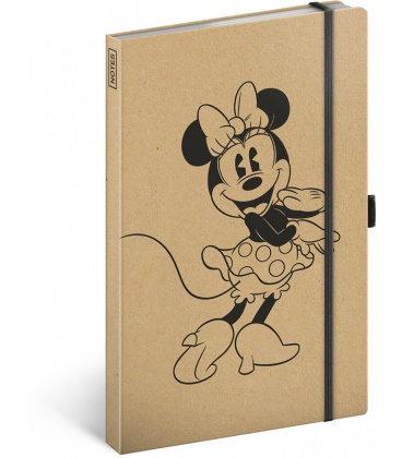 Notebook A5 Minnie Craft, lined 2020