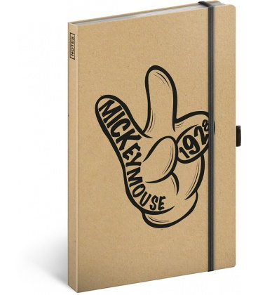 Notebook A5 Mickey Craft, lined 2020