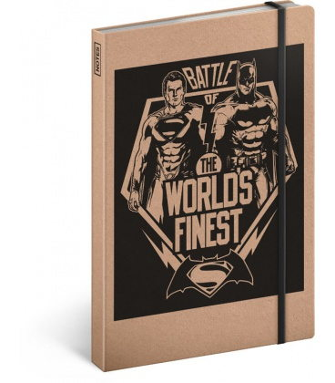 Notebook A5 Batman v Superman – Battle, lined 2020