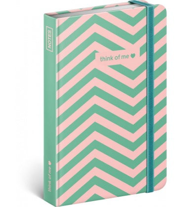 Notebook pocket Think Of Me, lined 2020