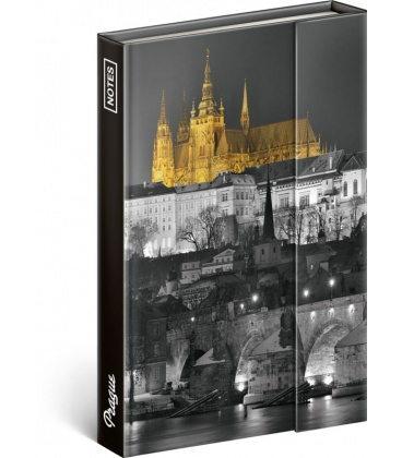 Notebook pocket magnetic Prague – Jakub Kasl, lined 2020