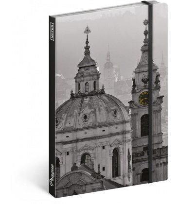 Notebook A5 Prague – Jakub Kasl, unlined 2020