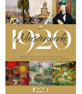 Wall calendar Meisterwerke 1920 - Kunstkalender 2020