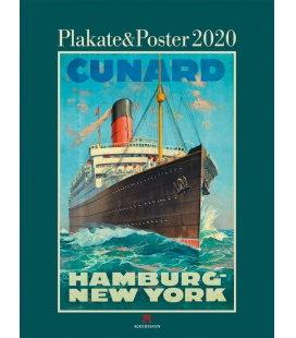 Wall calendar Plakate & Poster 2020