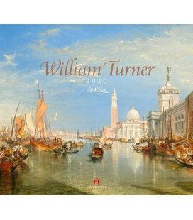 Wall calendar William Turner 2020