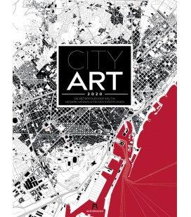 Wall calendar City Art - Metropolen im Schwarzplan-Design 2020