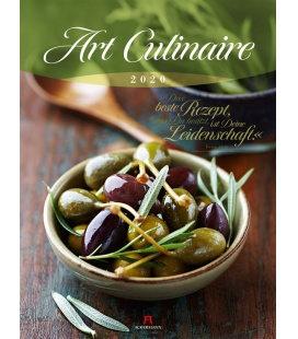 Wall calendar Art Culinaire 2020