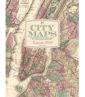 Wall calendar City Maps - Metropolen in alten Stadtplänen 2020