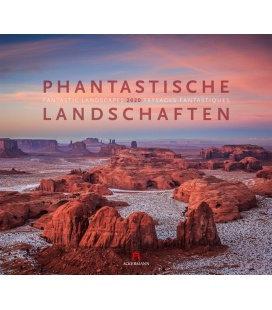 Wall calendar Phantastische Landschaften 2020