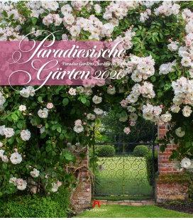 Wall calendar Paradiesische Gärten 2020