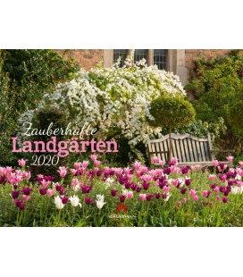 Wall calendar Zauberhafte Landgärten 2020