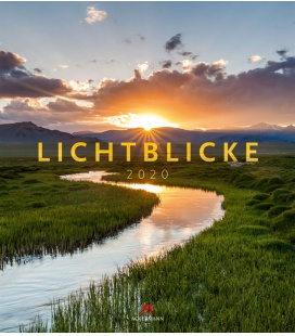 Wall calendar Lichtblicke 2020