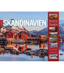 Wall calendar Skandinavien 2020