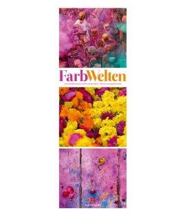 Wall calendar FarbWelten - Weltreise  Triplet-Kalender 2020