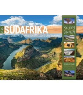 Wall calendar Südafrika 2020