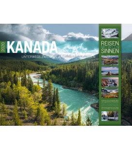 Wall calendar Kanada 2020