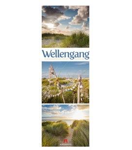 Wall calendar Wellengang - Meer Triplet-Kalender 2020