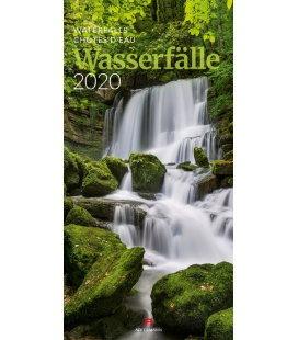 Wall calendar Wasserfälle 2020