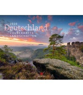 Wall calendar Deutschland - Zauberhafte Landschaften 2020