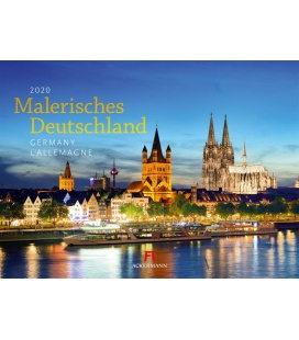 Wall calendar Malerisches Deutschland 2020