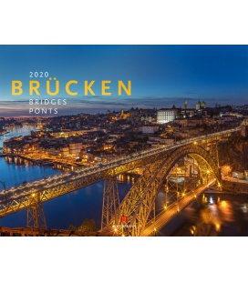 Wall calendar Brücken 2020