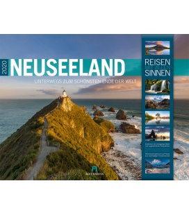Wall calendar Neuseeland 2020