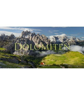 Wall calendar Dolomiten 2020