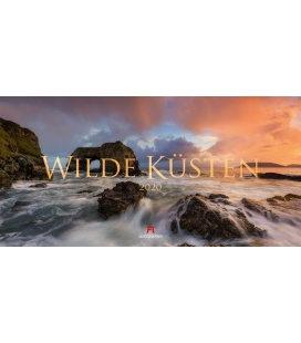 Wall calendar Wilde Küsten 2020