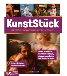 Wall calendar KunstStück - Wochenplaner 2020
