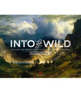 Wall calendar Into the Wild - Abenteuer Landschaftsmalerei 2020