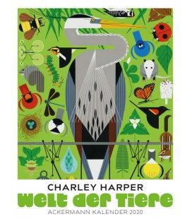 Wall calendar Welt der Tiere - Charley Harper 2020