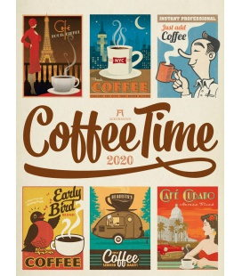 Wall calendar Coffee Time - Kaffee-Plakate 2020