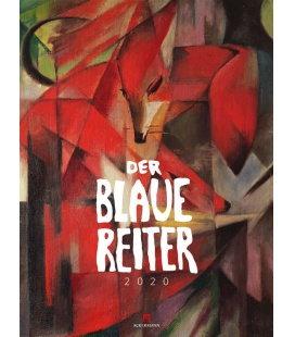 Wall calendar Der Blaue Reiter 2020