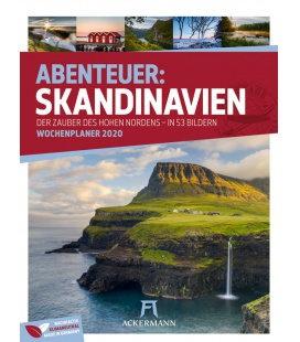 Wall calendar Skandinavien - Wochenplaner 2020