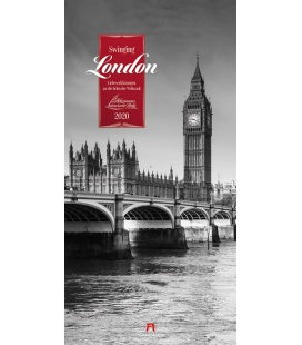 Wall calendar Swinging London - Literaturkalender 2020