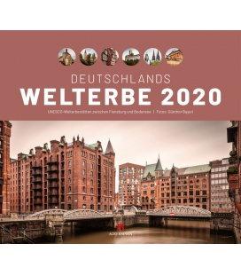 Wall calendar Deutschlands Welterbe - UNESCO Welterbestätten 2020