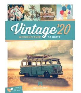 Wall calendar Vintage - Wochenplaner 2020