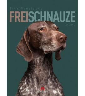 Wall calendar Frei Schnauze 2020