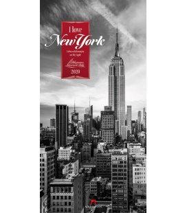 Wall calendar I love New York - Literaturkalender 2020