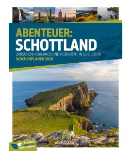 Wall calendar Schottland - Wochenplaner 2020