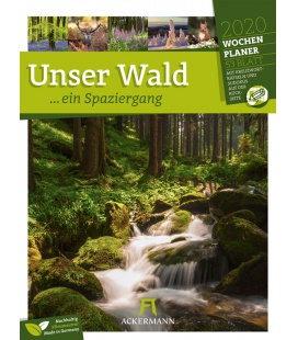 Wall calendar Unser Wald - Wochenplaner 2020