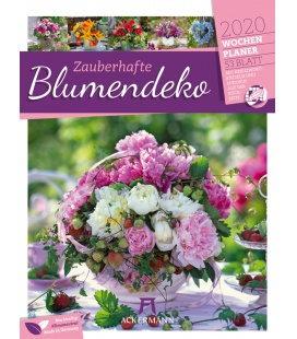 Wall calendar Zauberhafte Blumendeko - Wochenplaner 2020