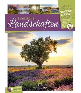 Wall calendar Poetische Landschaften - Wochenplaner 2020