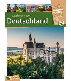 Wall calendar Malerisches Deutschland - Wochenplaner 2020