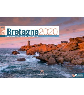 Wall calendar Bretagne ReiseLust 2020